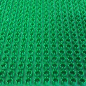Thảm Nhựa Gai Cúc Màu Xanh