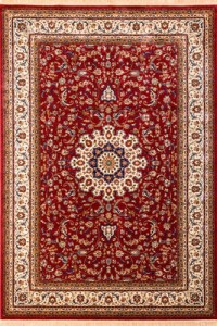 Thảm trải sofa kashmir 815 red