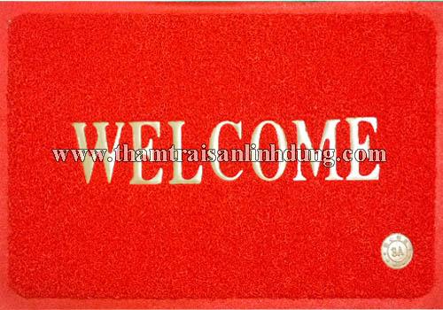 Thảm welcome màu đỏ