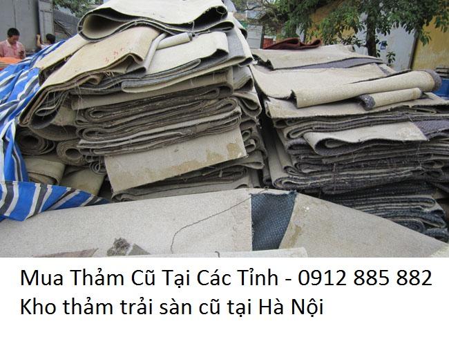 Mua Thảm Trải Sàn Cũ Tại Hà Nội