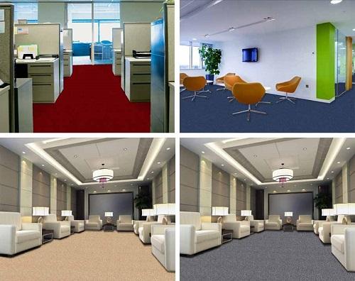 4 loại thảm cuộn tốt nhất phù hợp với mọi văn phòng