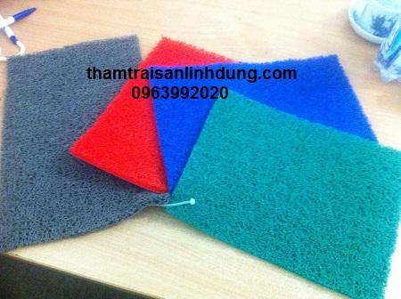 Thảm chùi chân nhựa rối làm từ nhựa tổng hợp cao cấp