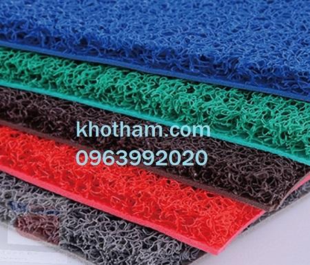 Thảm nhựa chùi chân nhiều màu