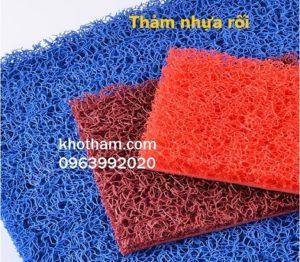 Thảm nhựa rối dày giá rẻ Hà Nội