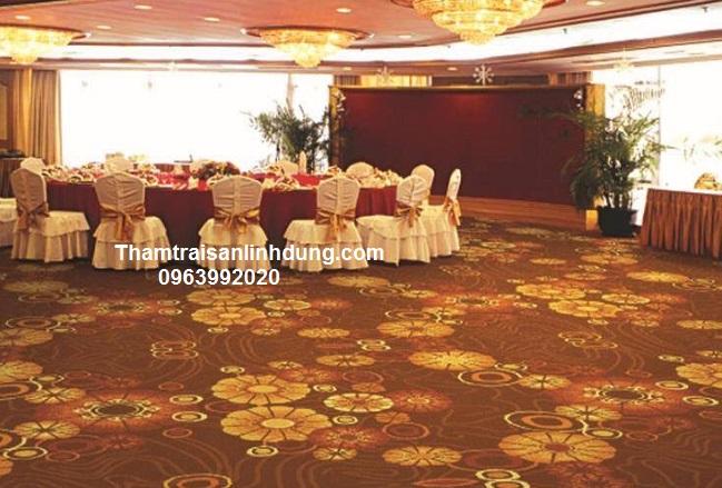 Thảm trung tâm tiệc cưới hoa văn